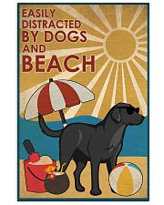 Dog Labrador And Beach 16x24 Poster front