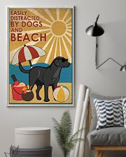 Dog Labrador And Beach 16x24 Poster lifestyle-poster-1
