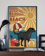 Dog Labrador And Beach 16x24 Poster lifestyle-poster-2