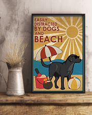 Dog Labrador And Beach 16x24 Poster lifestyle-poster-3