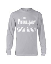 The pitbull lady Long Sleeve Tee tile