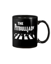 The pitbull lady Mug tile