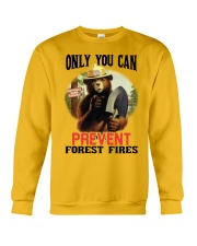 Only you can prevent forest fires Crewneck Sweatshirt thumbnail