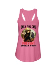 Only you can prevent forest fires Ladies Flowy Tank thumbnail
