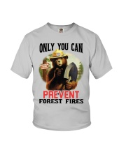 Only you can prevent forest fires Youth T-Shirt thumbnail