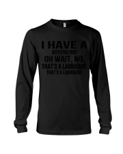 I have a boyfriend Long Sleeve Tee thumbnail