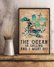 Surfing The Ocean Is Calling 16x24 Poster lifestyle-poster-3