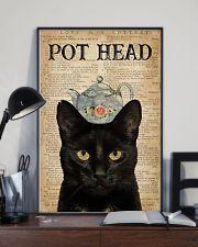 Cat Pot Head 16x24 Poster lifestyle-poster-2