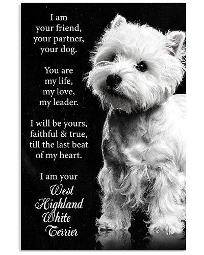 Dog West Highland I Am your Friend