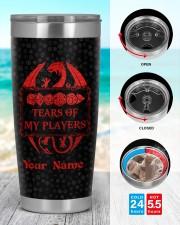 Tears Of My Players 20oz Tumbler aos-20oz-tumbler-lifestyle-front-44