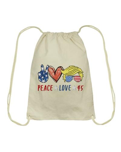 Election Vote Peace Love 45