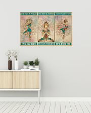 Yoga It's Not A Phase It's My Life 36x24 Poster poster-landscape-36x24-lifestyle-01