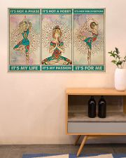 Yoga It's Not A Phase It's My Life 36x24 Poster poster-landscape-36x24-lifestyle-22