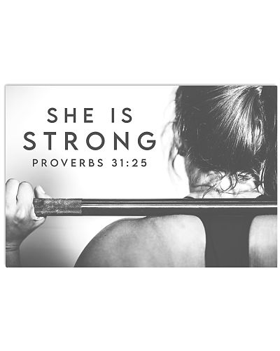 Fitness She is Strong