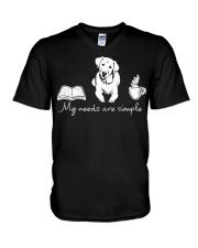 Labrador V-Neck T-Shirt thumbnail