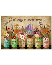 Hippie God Says You Are 36x24 Poster front
