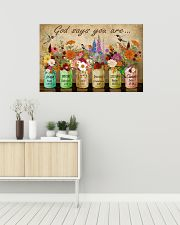 Hippie God Says You Are 36x24 Poster poster-landscape-36x24-lifestyle-01