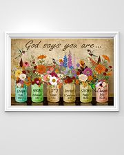 Hippie God Says You Are 36x24 Poster poster-landscape-36x24-lifestyle-02