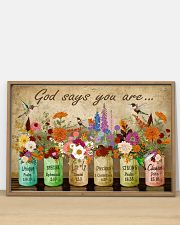Hippie God Says You Are 36x24 Poster poster-landscape-36x24-lifestyle-03