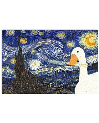 Goose Game Starry Night
