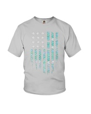 Mermaid Flag Youth T-Shirt thumbnail