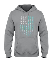 Mermaid Flag Hooded Sweatshirt thumbnail