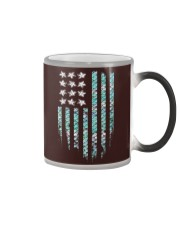 Mermaid Flag Color Changing Mug thumbnail