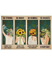 Mental Be Strong Be Brave 36x24 Poster front