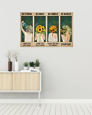 Mental Be Strong Be Brave 36x24 Poster poster-landscape-36x24-lifestyle-01