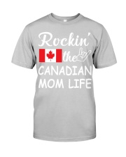 canadian mom life Classic T-Shirt tile