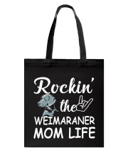 weimaraner mom life Tote Bag thumbnail