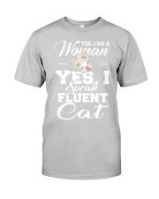 Yes I speak fluent  cat Classic T-Shirt thumbnail