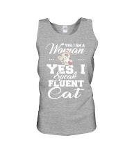 Yes I speak fluent  cat Unisex Tank thumbnail