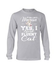 Yes I speak fluent  cat Long Sleeve Tee thumbnail