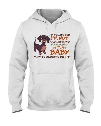 Dog Dachshund I'm A Baby