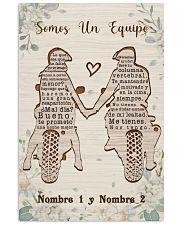 Biker Somos Un Equipo 16x24 Poster front