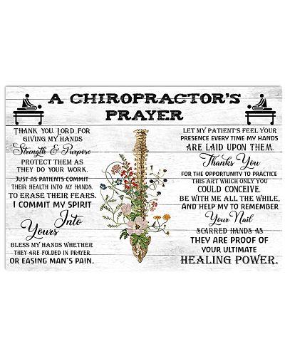 A Chiropractor's Prayer