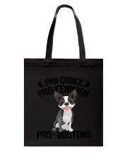 Pro-bostons Tote Bag thumbnail