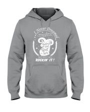 Goat lady Hooded Sweatshirt thumbnail