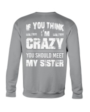 Crazy Sister Crewneck Sweatshirt thumbnail