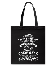 I need a time out send me to the beach Tote Bag thumbnail