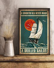 Ocean A Smooth Sea never made 16x24 Poster lifestyle-poster-3