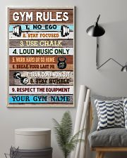 Gym Rules 16x24 Poster lifestyle-poster-1