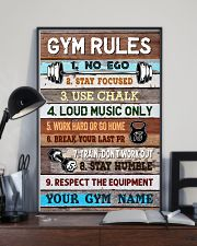 Gym Rules 16x24 Poster lifestyle-poster-2