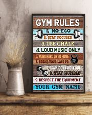 Gym Rules 16x24 Poster lifestyle-poster-3