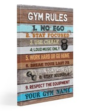 Gym Rules 20x30 Gallery Wrapped Canvas Prints thumbnail