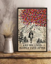 Hiking And She Lived Happily Ever After 16x24 Poster lifestyle-poster-3