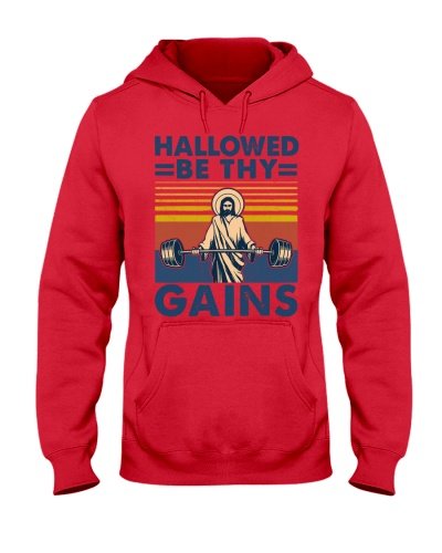 Fitness Hallowed Be Thy Gains