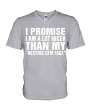 I promise V-Neck T-Shirt thumbnail