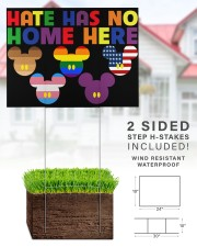 LGBT Hate Has No Home Here 24x18 Yard Sign aos-yard-sign-24x18-lifestyle-front-28